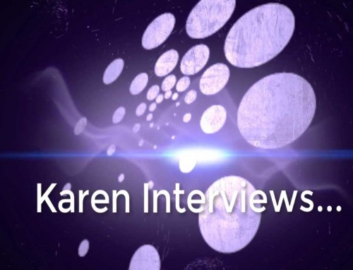 Karen Peters interviews Vicky